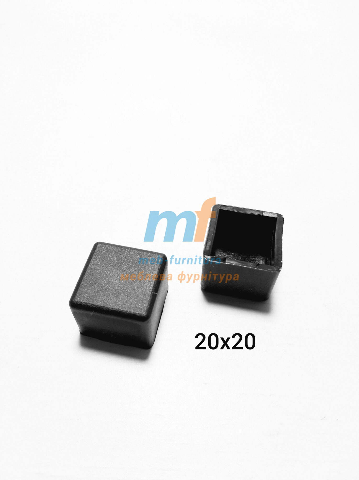 Заглушки наружные 20x20мм