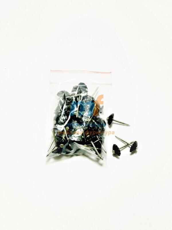 Гвозди пластиковые Чорные