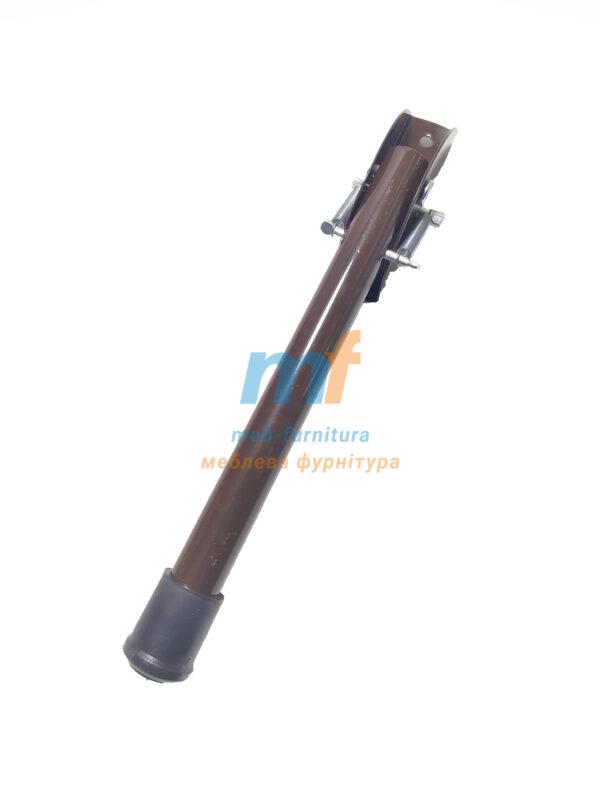 Ножка откидная для упора дверей №200 коричневая