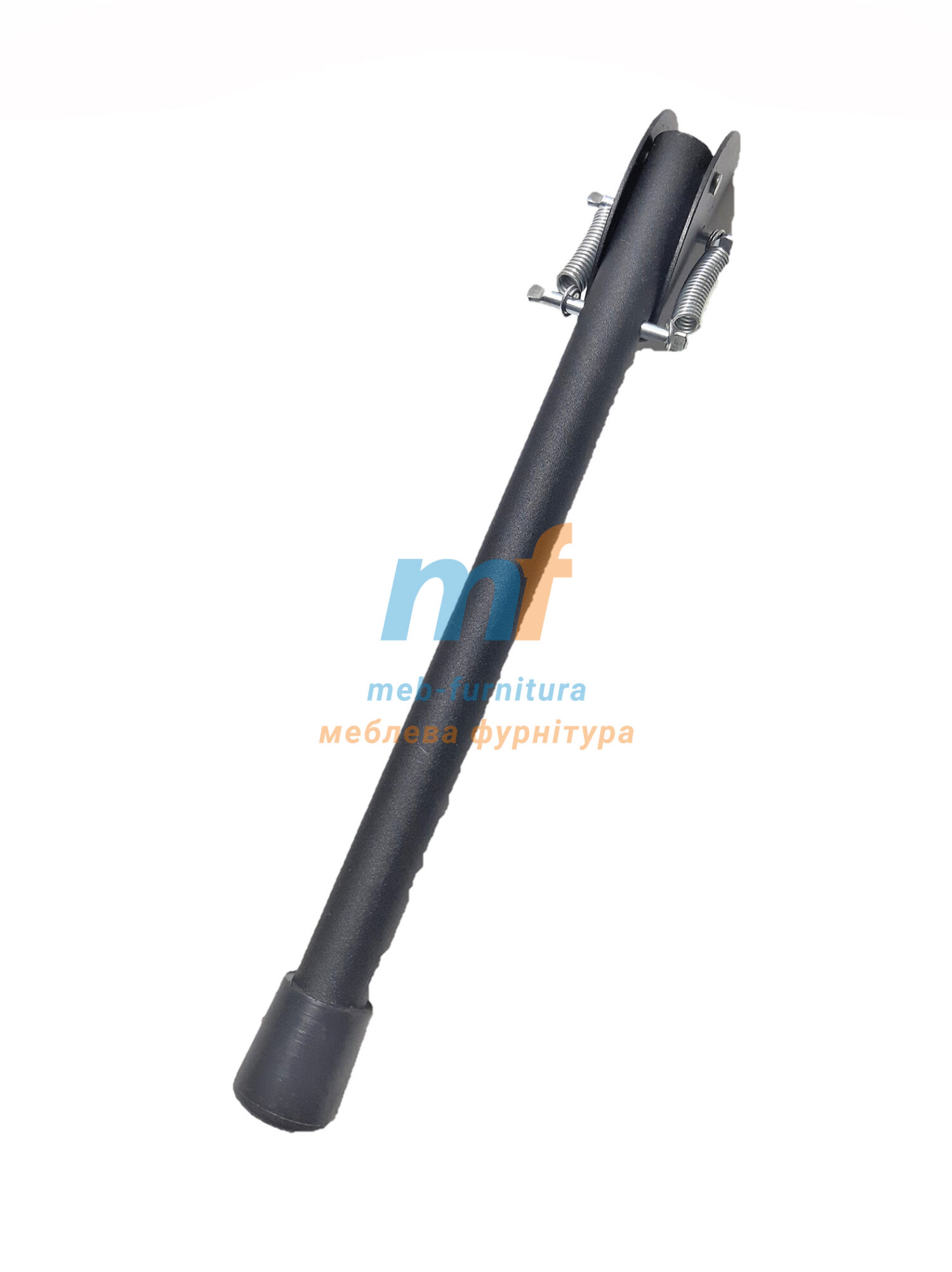 Ножка откидная для упора дверей №250 черная