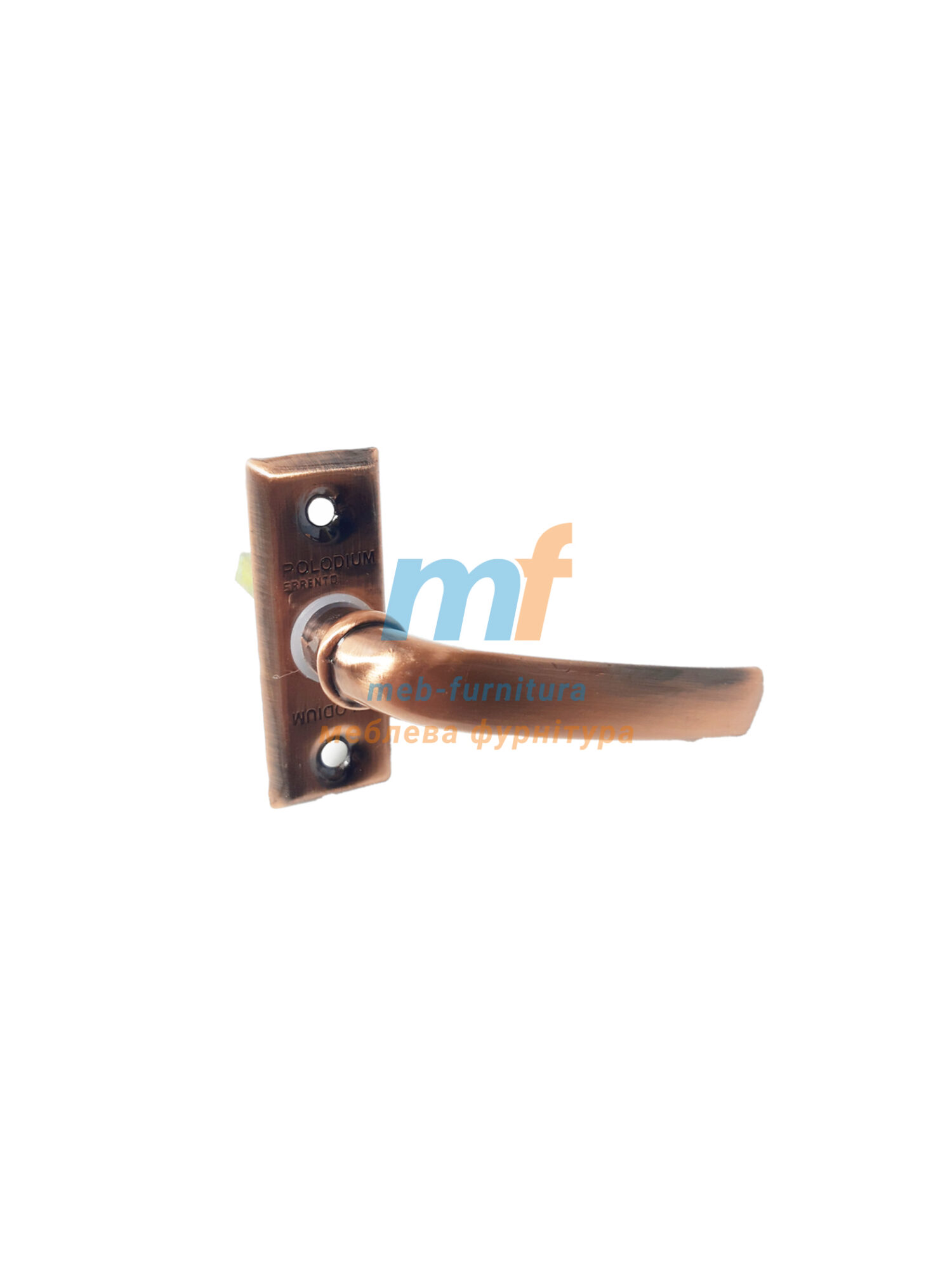 Оконная ручка Paladinum коричневая