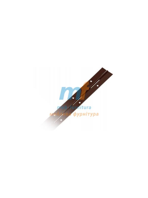Петля рояльная 1м Польша коричневая