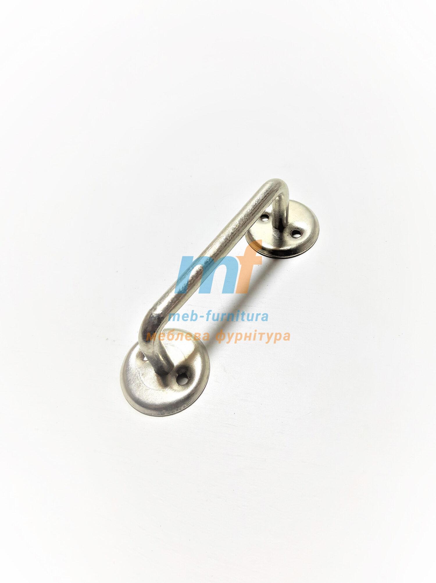 Ручка скоба РС-80 никель (под Симферополь)