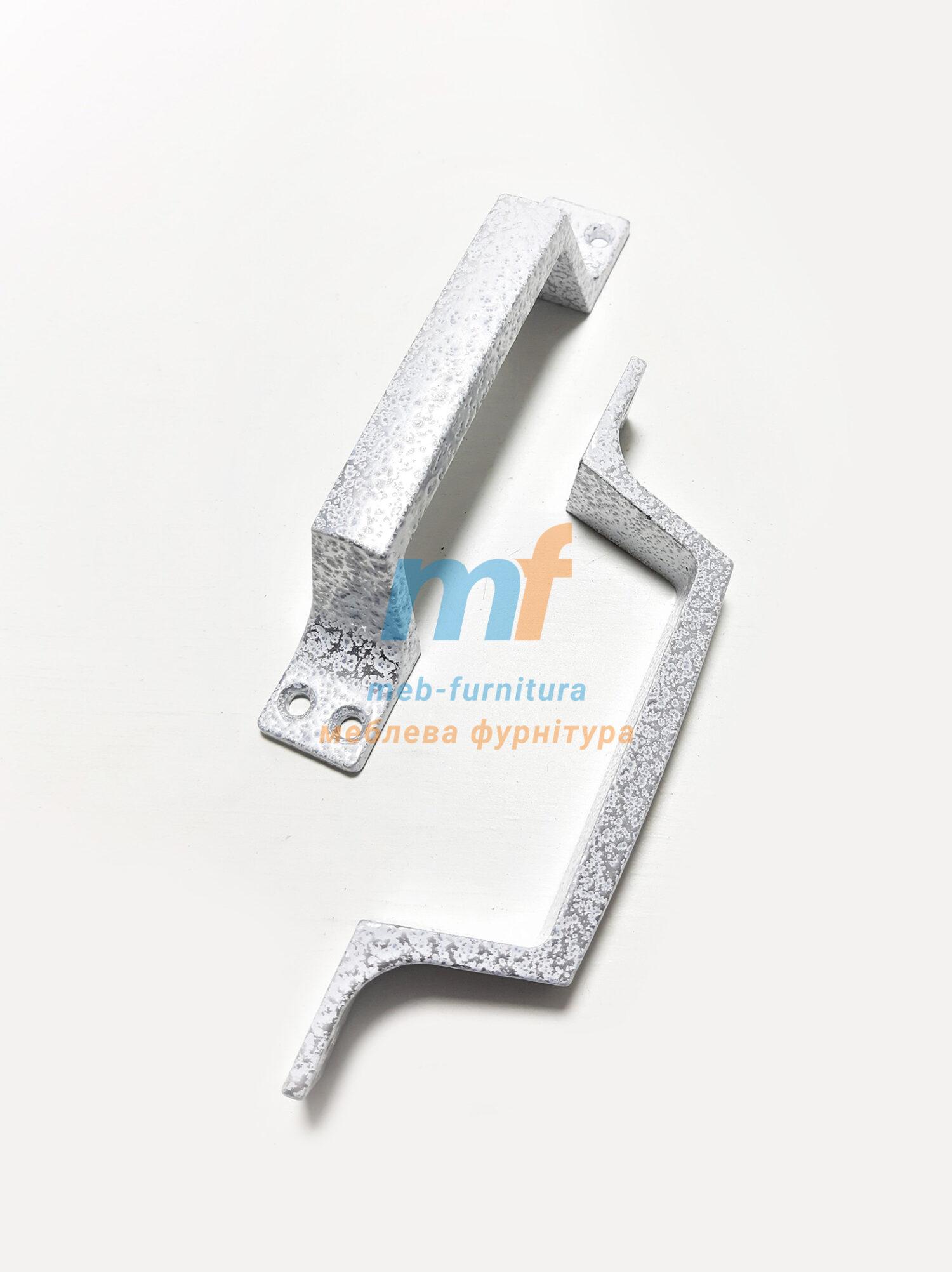 Ручка скоба дюраль маленькая белая