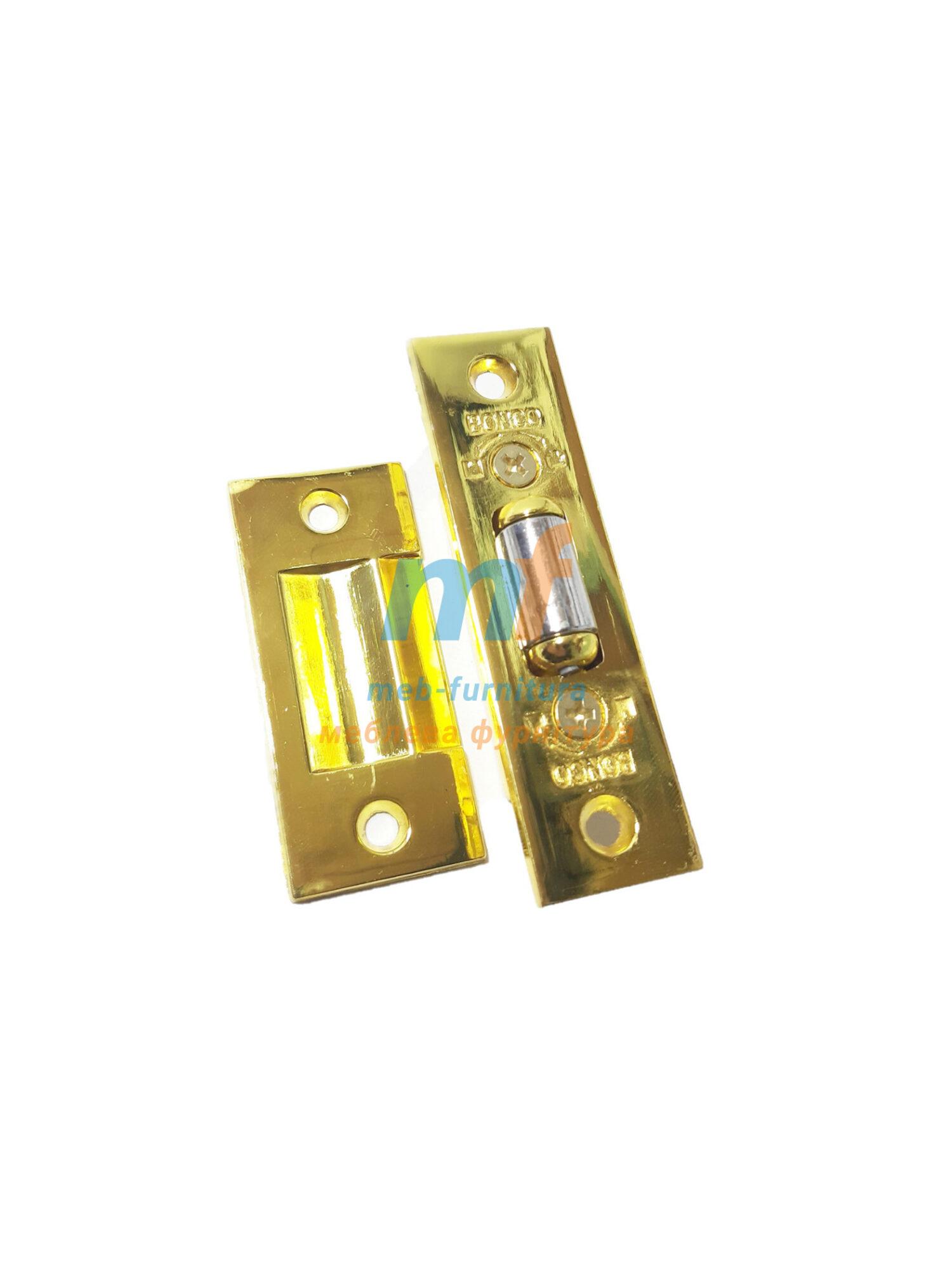 Защелка дверная, роликовая (Желтый)