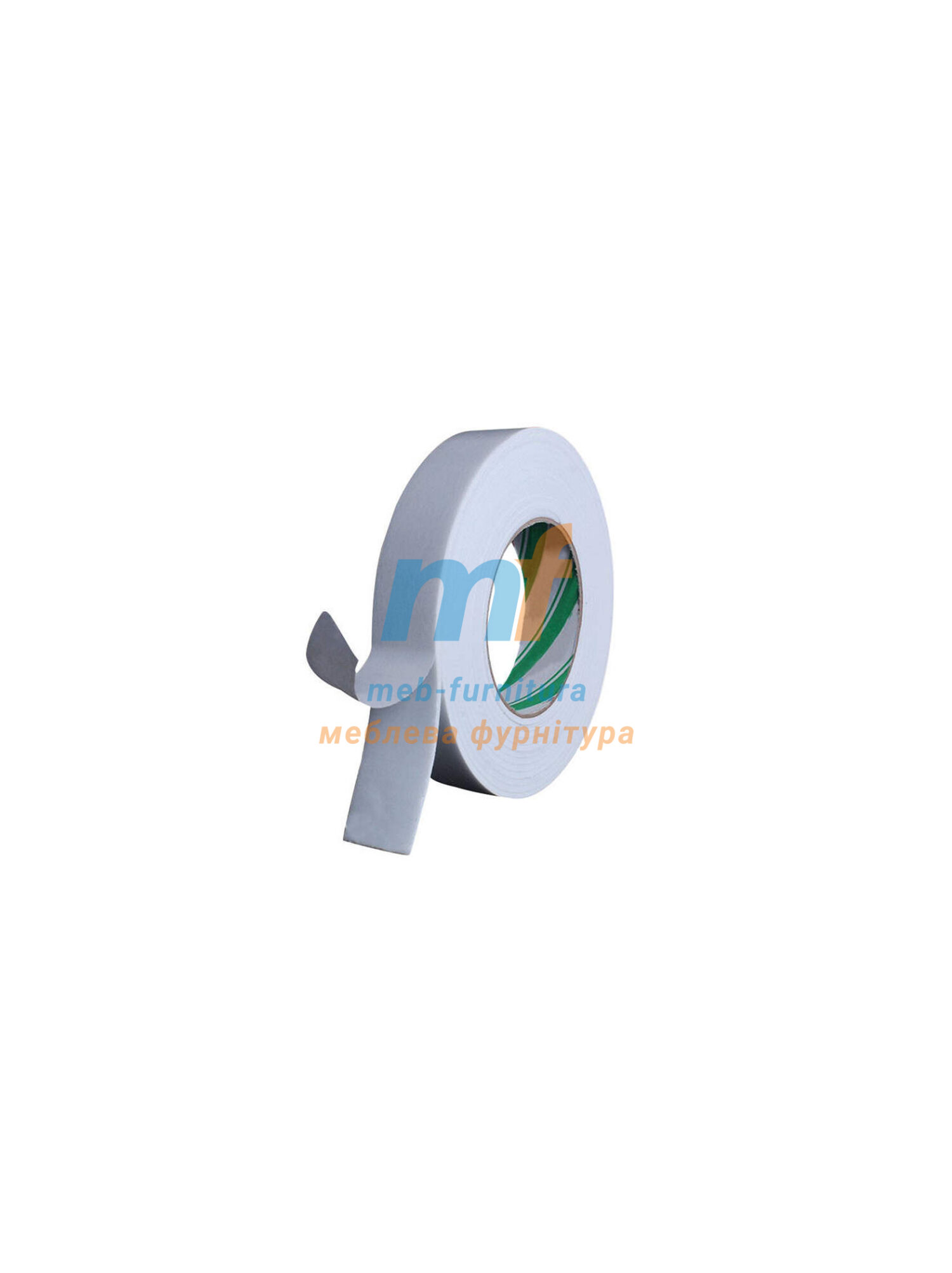 Двухсторонний скотч для дзеркал 20ммх5м Белый Турция
