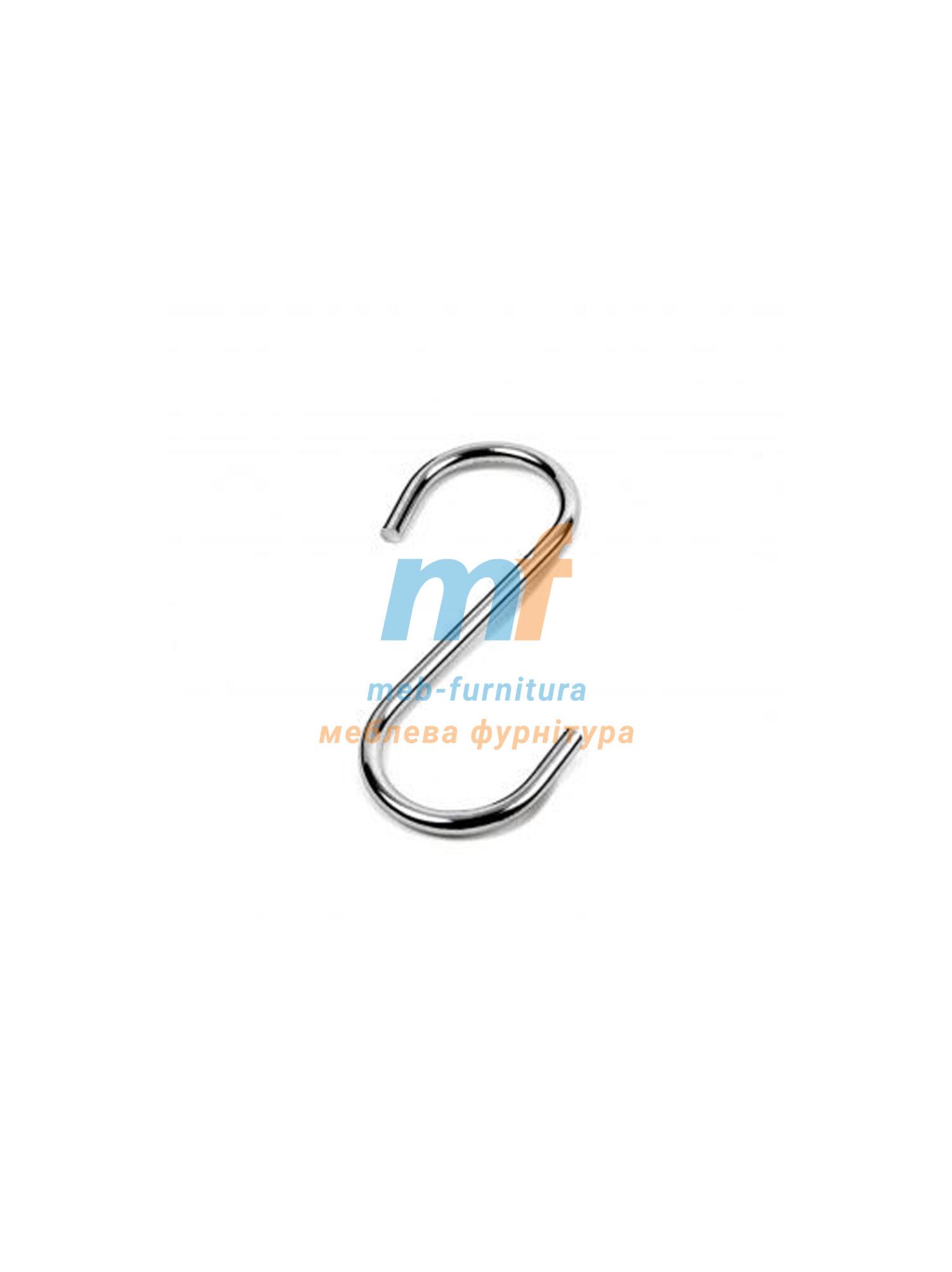 Крючок на релинг s диаметр 25мм