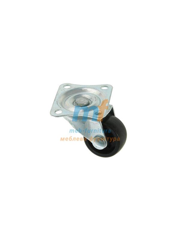 Колесо резина на платформе 25мм (3-004)