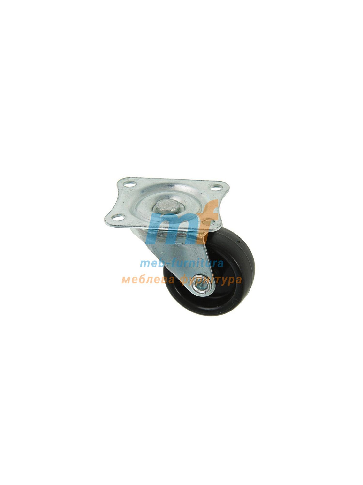 Колесо резина на платформе 30мм (3-004)