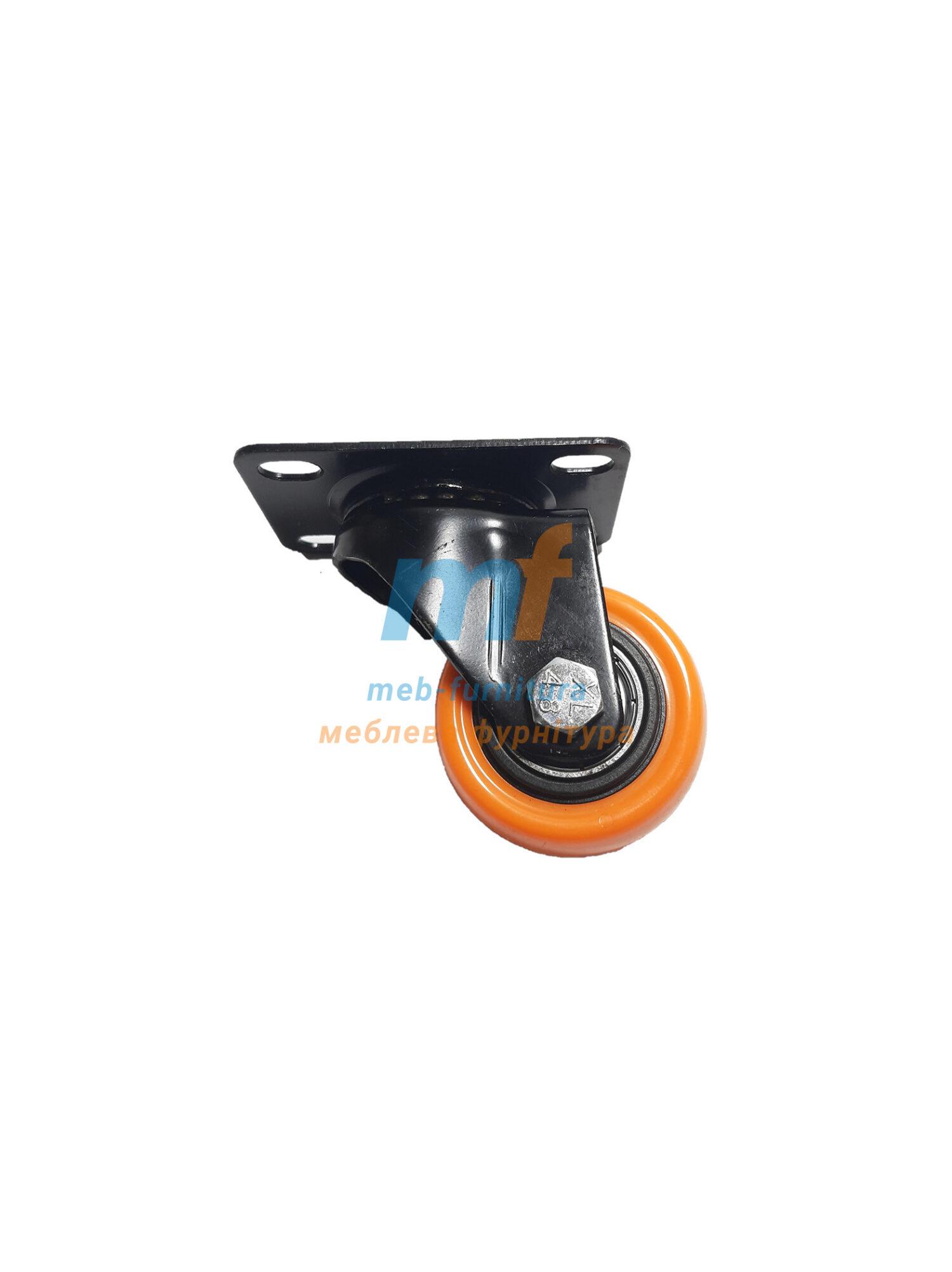 Колесо резина на платформе 40мм (3-001)