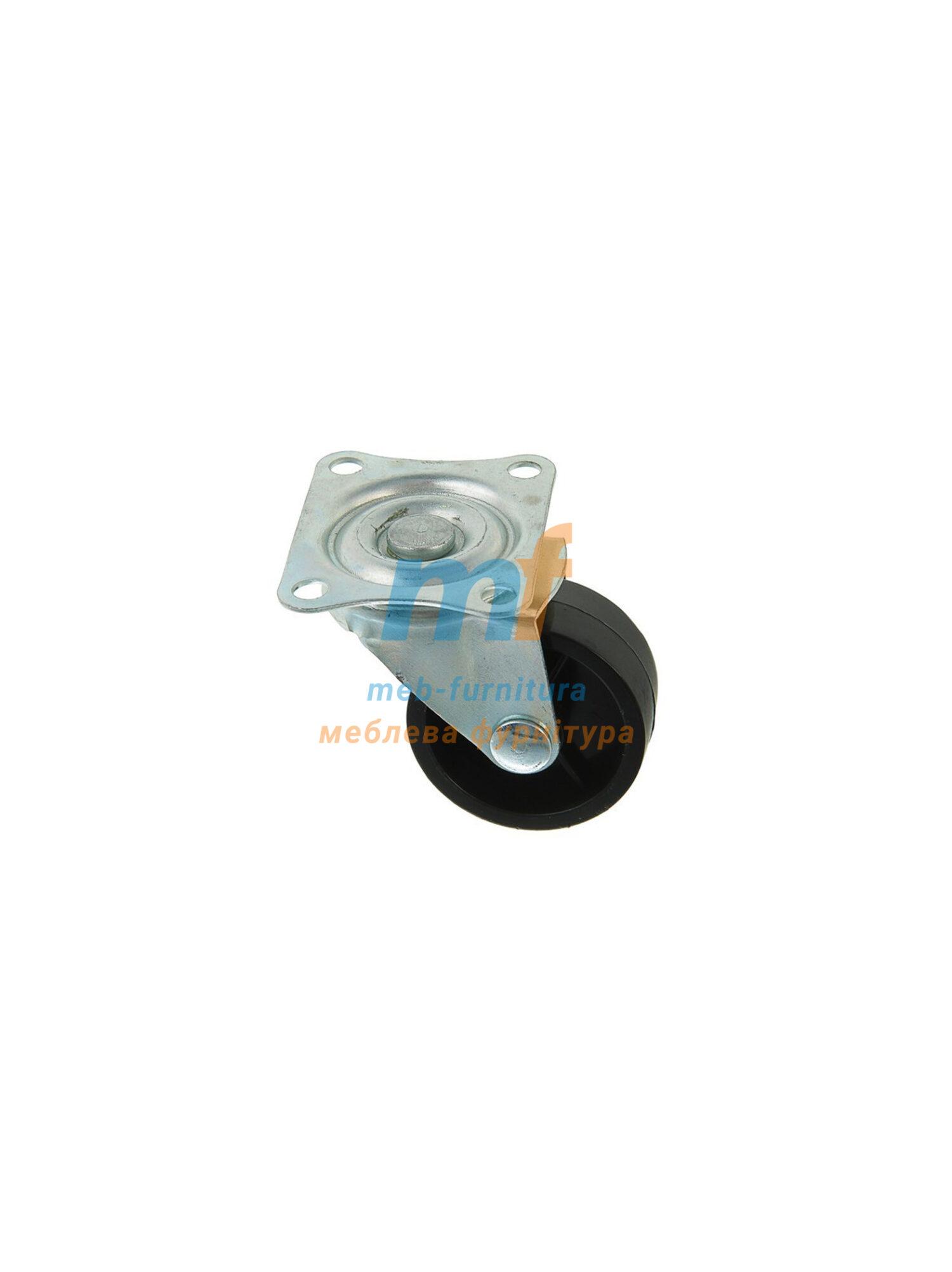 Колесо резина на платформе 40мм (3-004)