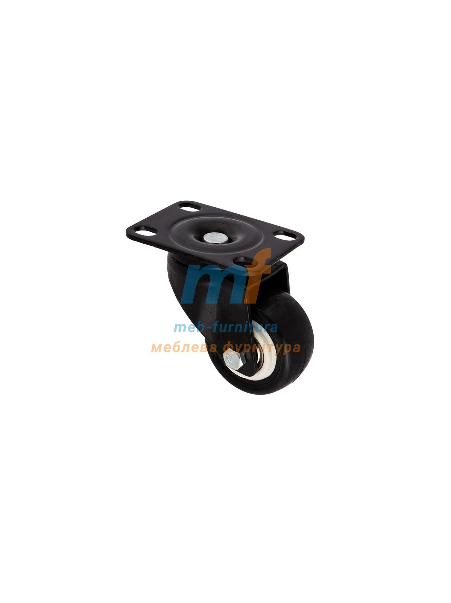 Колесо резина на платформе 50мм (3-001)
