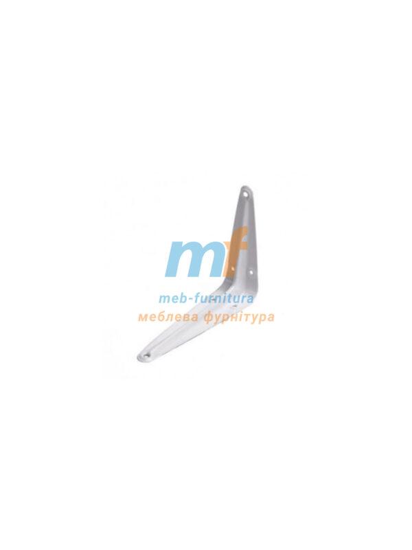 Консоль-полкодержатель металлический (8х10) 200х250мм бельй Польша
