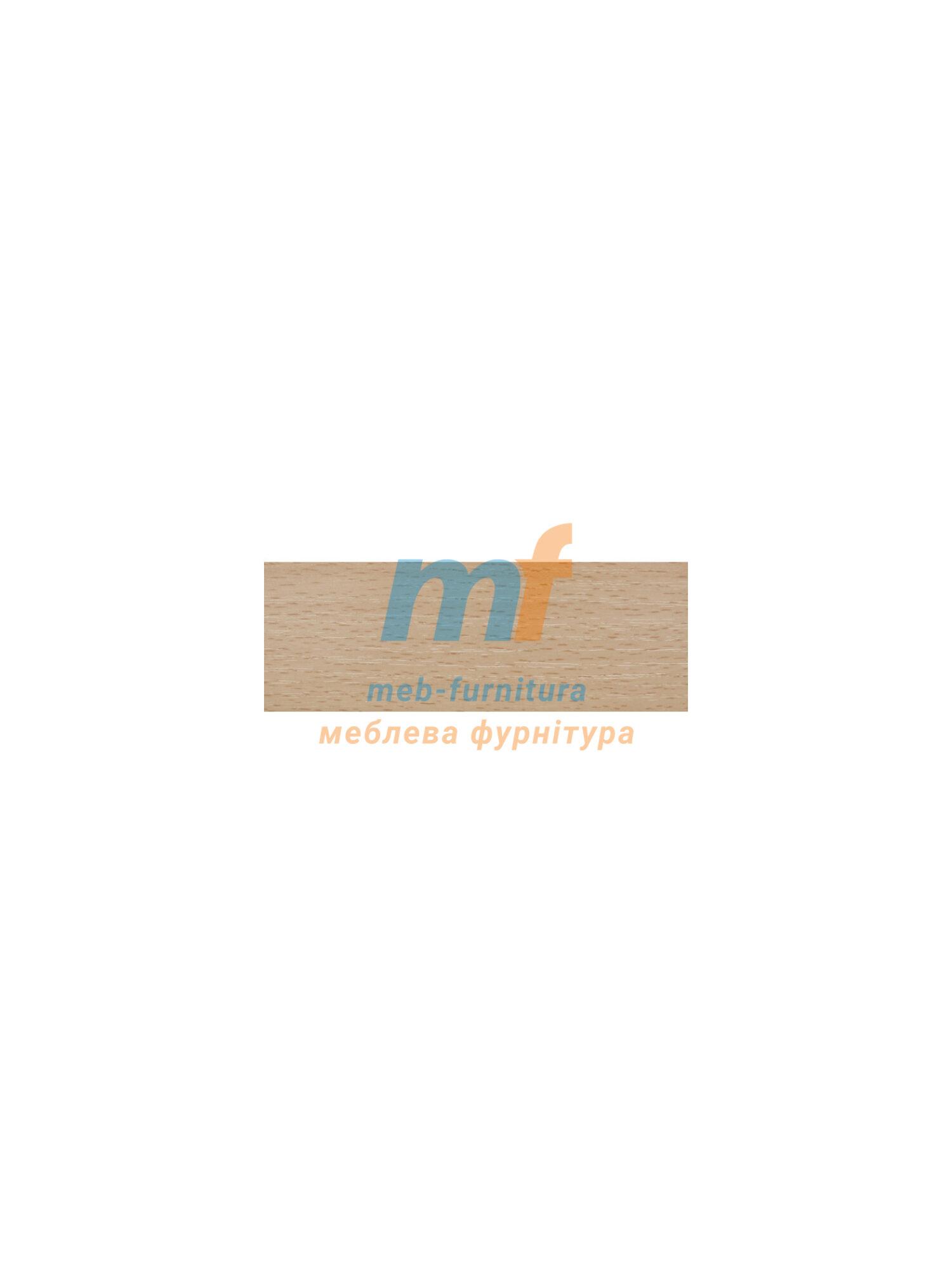 Кромка бумажная 20мм с клеем Бук натуральный (10метрів)