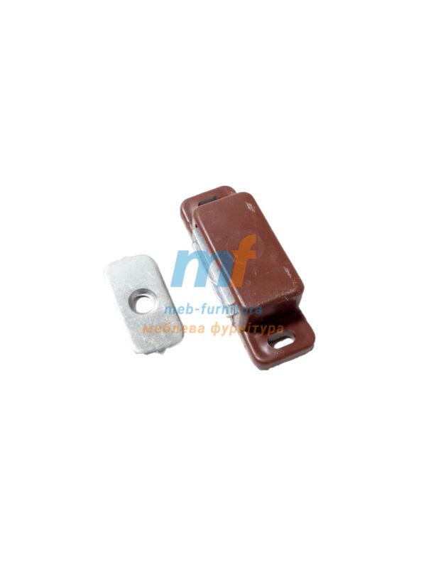 Магнит мебельный маленький коричневый (Украина)