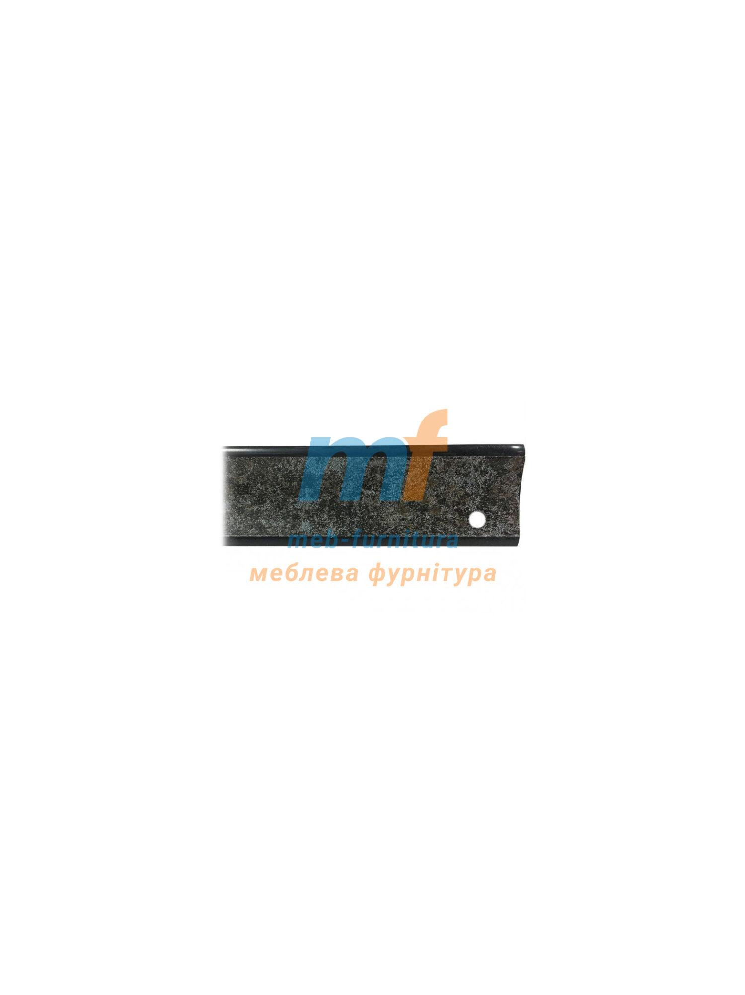 Плинтус для столешниц Мрамор Черный (3 метра)
