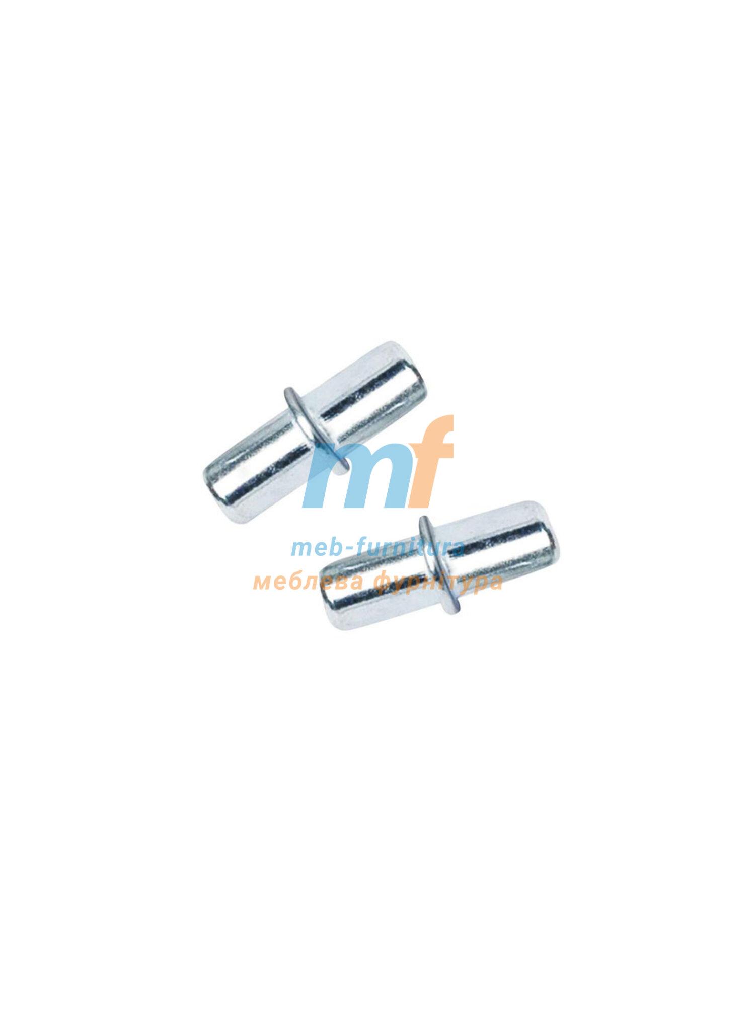 Полкодержатель пистон металический