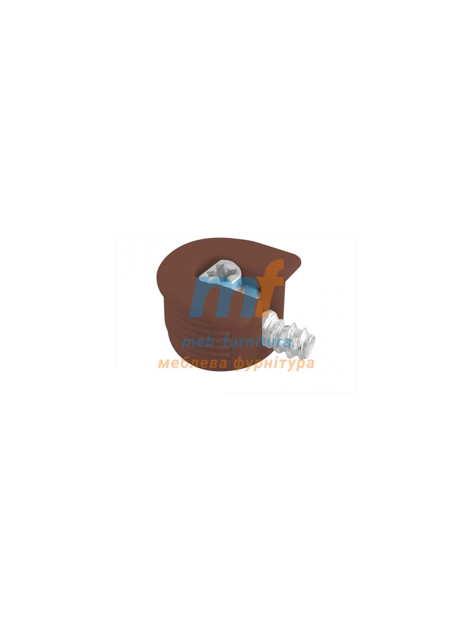 Рафикс корпус стяжки коричневый + винт
