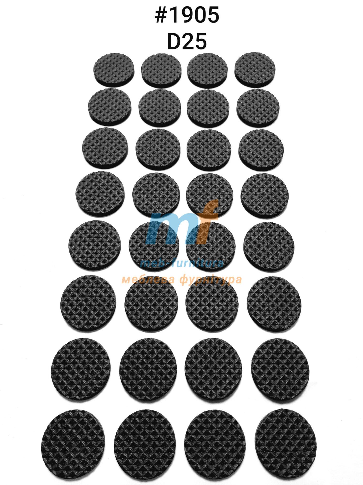 Резиновые накладки на ножки мебели d=25