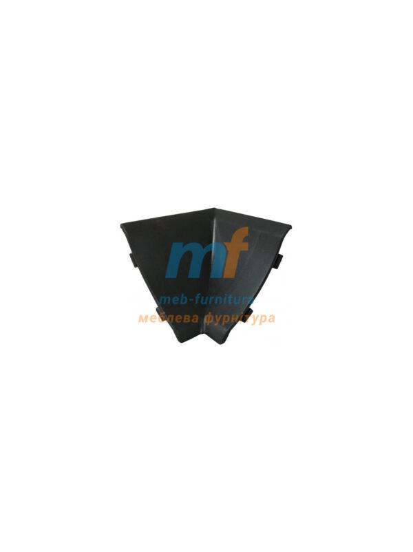 Угол внутренний для плинтуса Черный (1шт.)