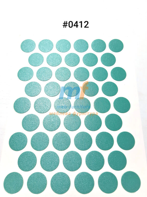 Заглушка на самоклейке для конфирмата,шурупа (0412)