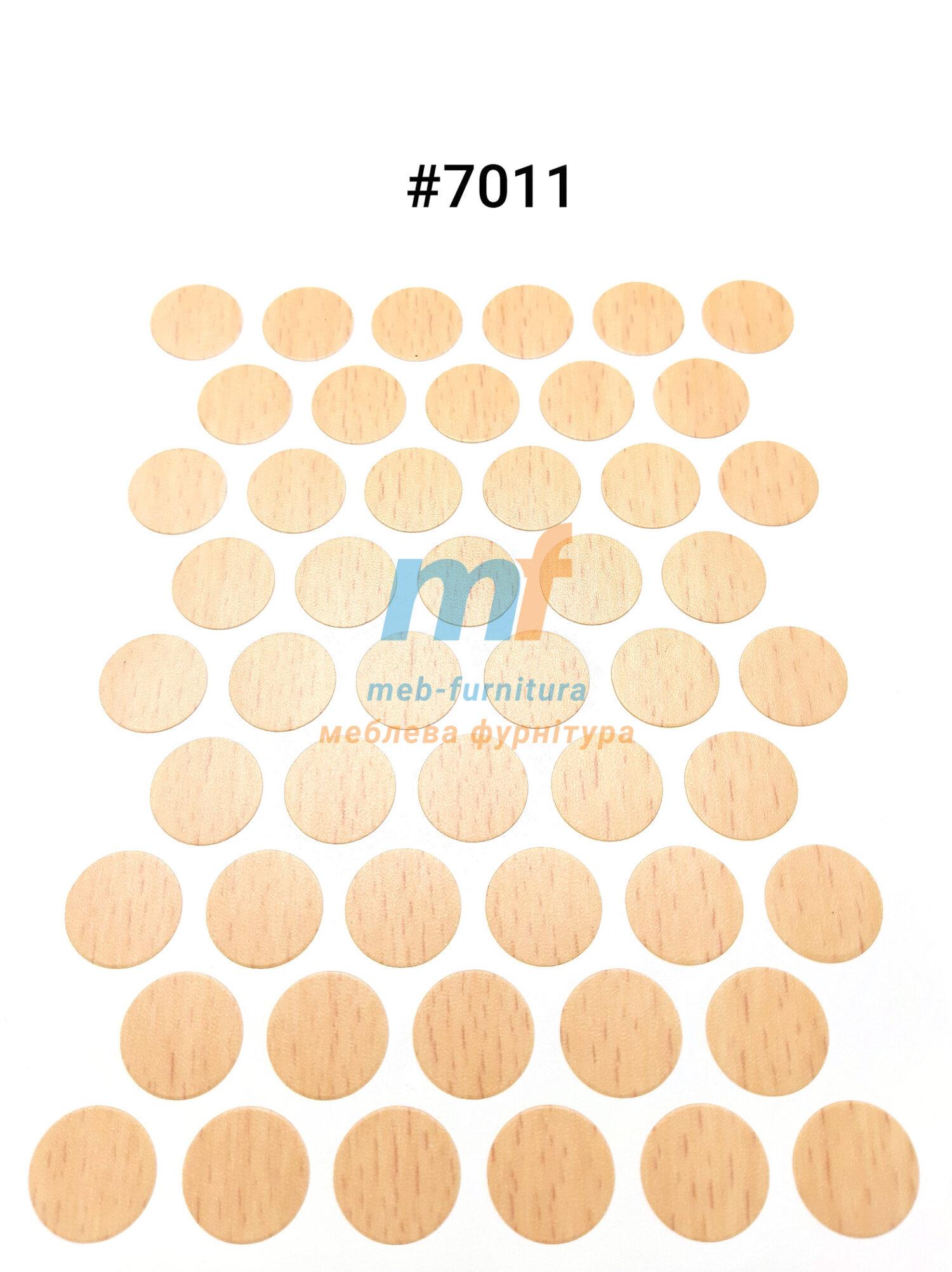Заглушка на самоклейке для конфирмата,шурупа (7011)