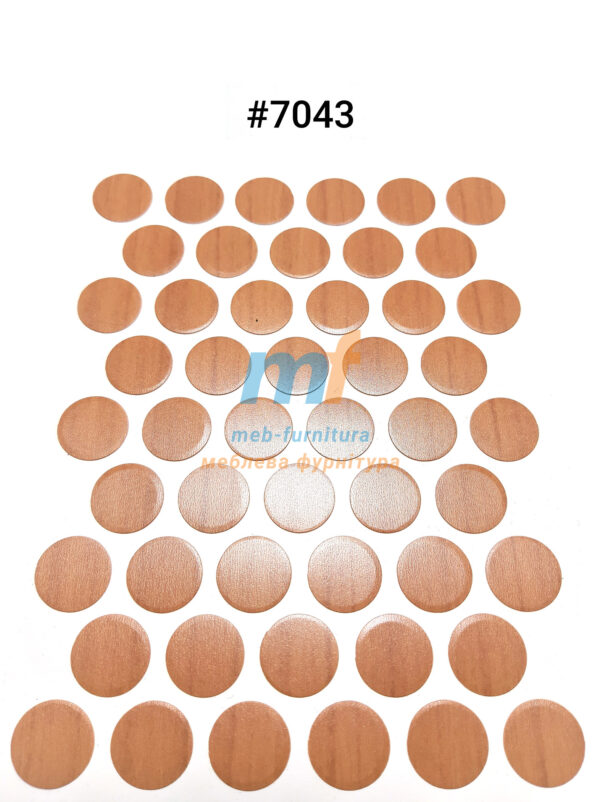 Заглушка на самоклейке для конфирмата,шурупа (7043)