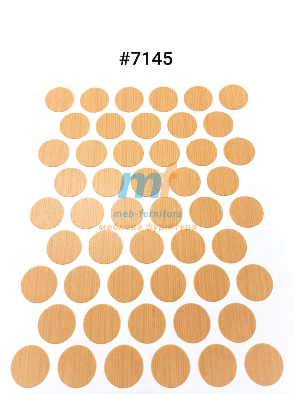 Заглушка на самоклейке для конфирмата,шурупа (7145)