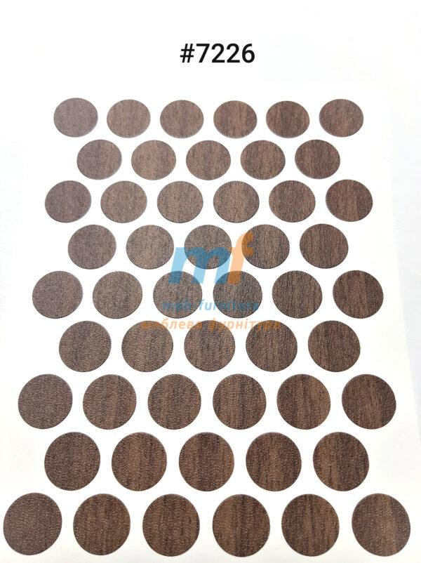 Заглушка на самоклейке для конфирмата,шурупа (7226)