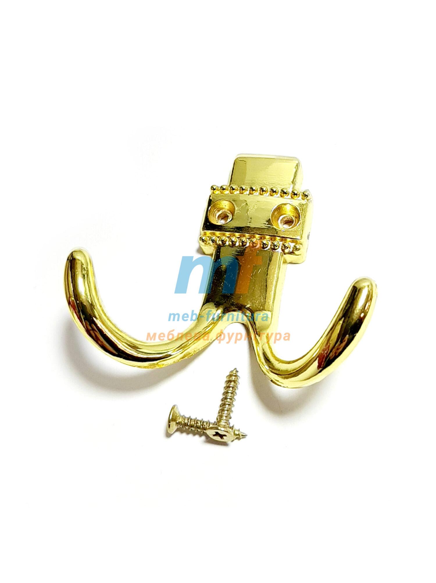 Крючок 0001 - золото