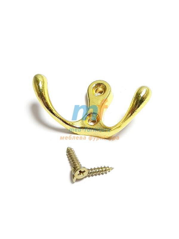 Крючок 0301 золото (люкс)