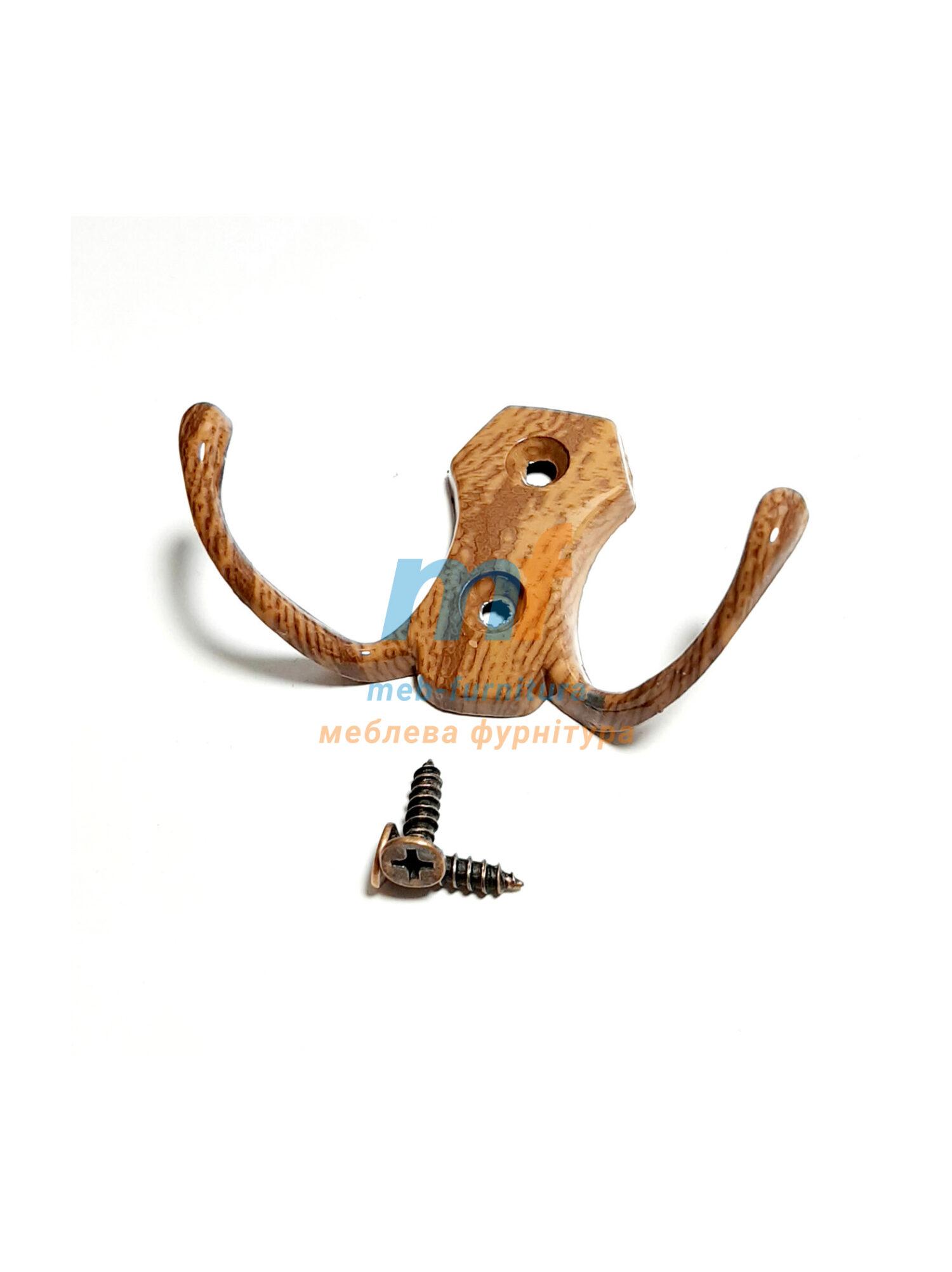 Крючок 0302 структура коричневая (ЕКО)