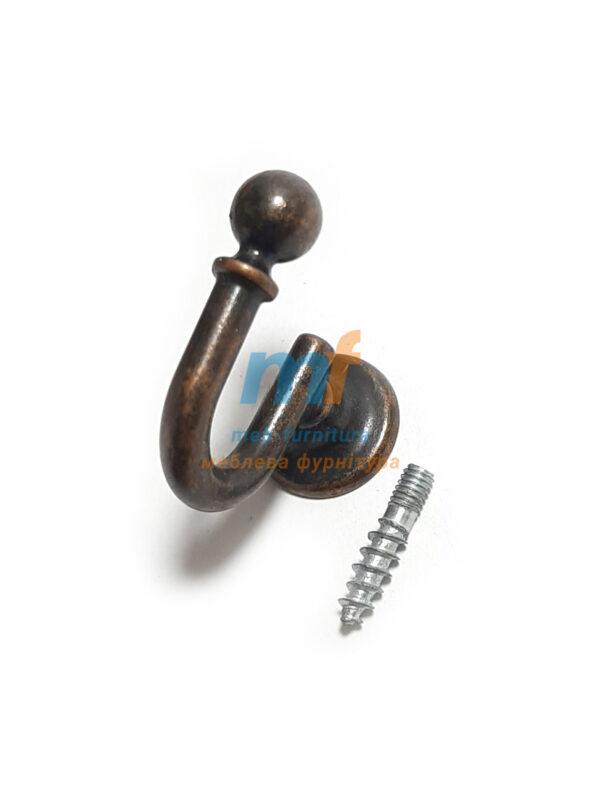 Крючок BONCUK маленький - коричневый