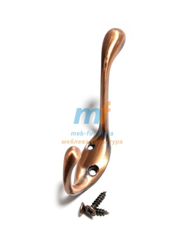 Крючок Гусак - коричневый