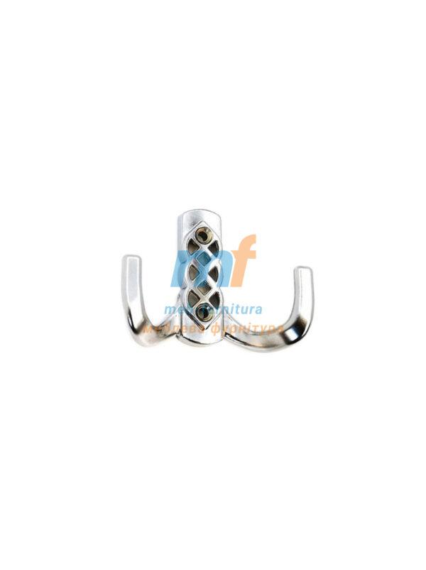 Крючок Косынка маленький (ЕКО)- хром