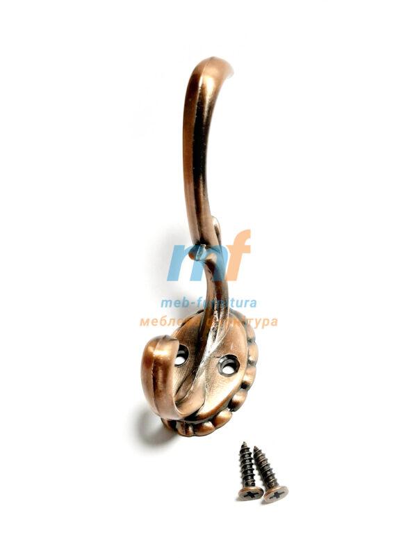 Крючок Ромашка большой - коричневый