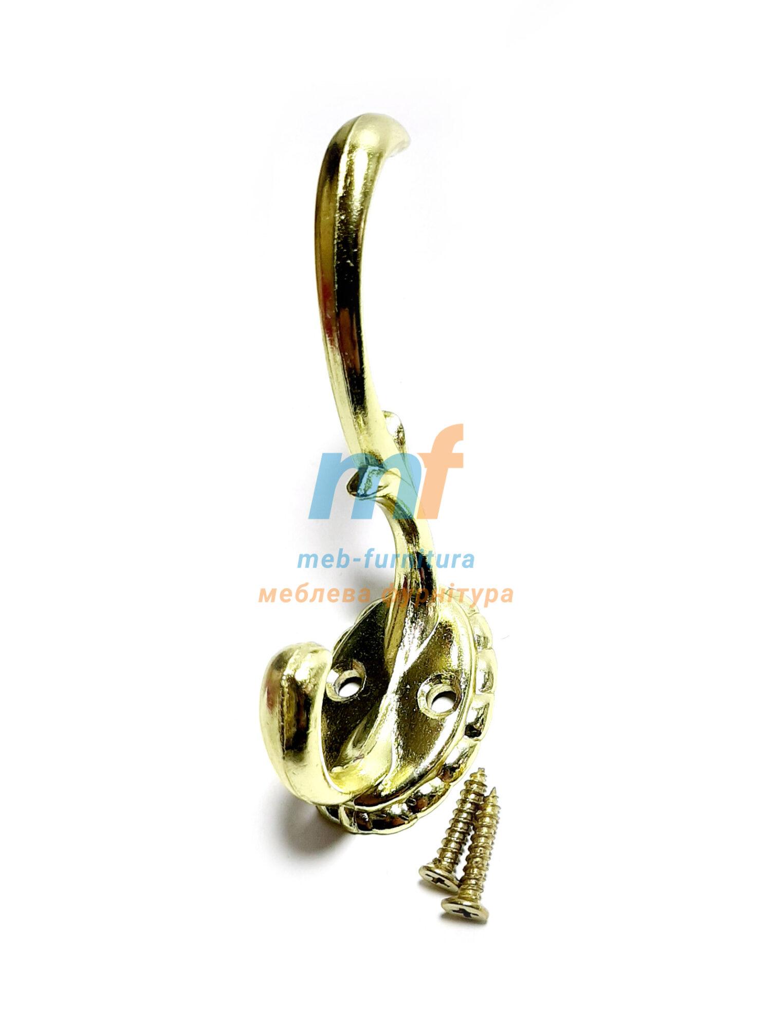 Крючок Ромашка большой - золото