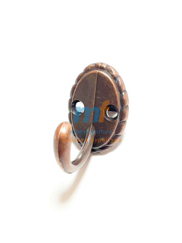 Крючок Ромашка маленький - коричневый