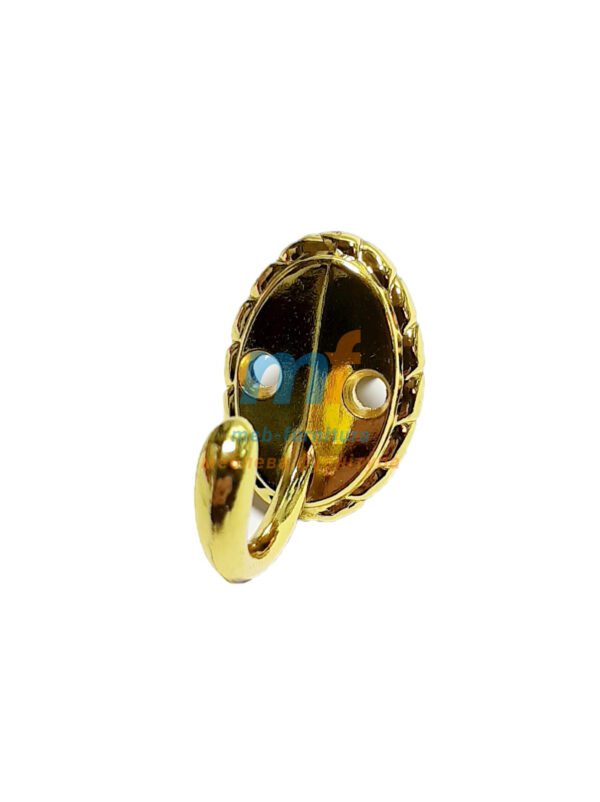 Крючок Ромашка маленький - золото
