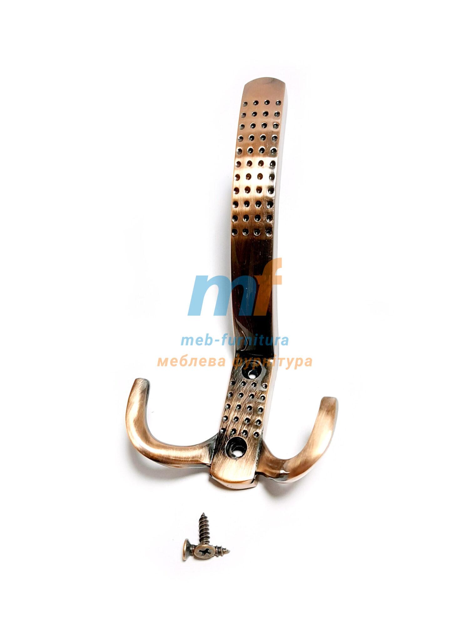 Крючок Точка большая (EKO) - коричневый