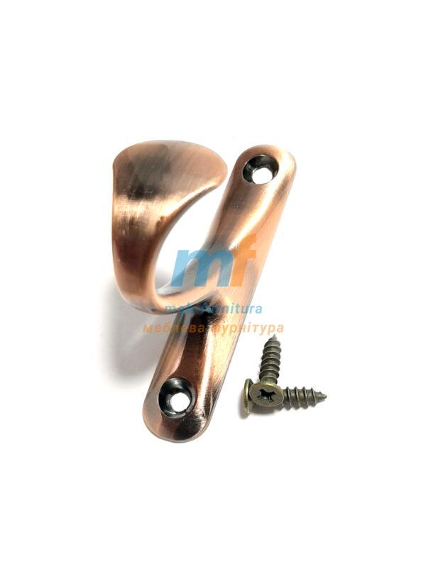 Крючок Уточка - коричневая