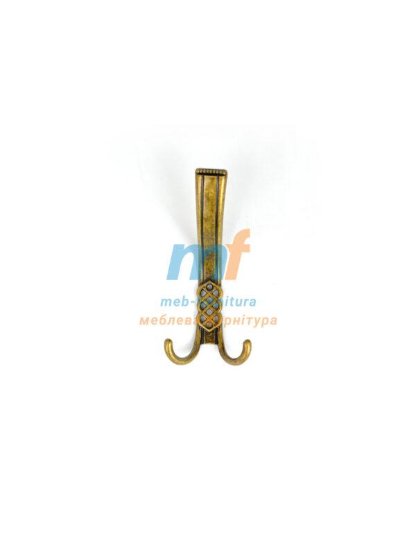 Крючок W102 большой - бронза