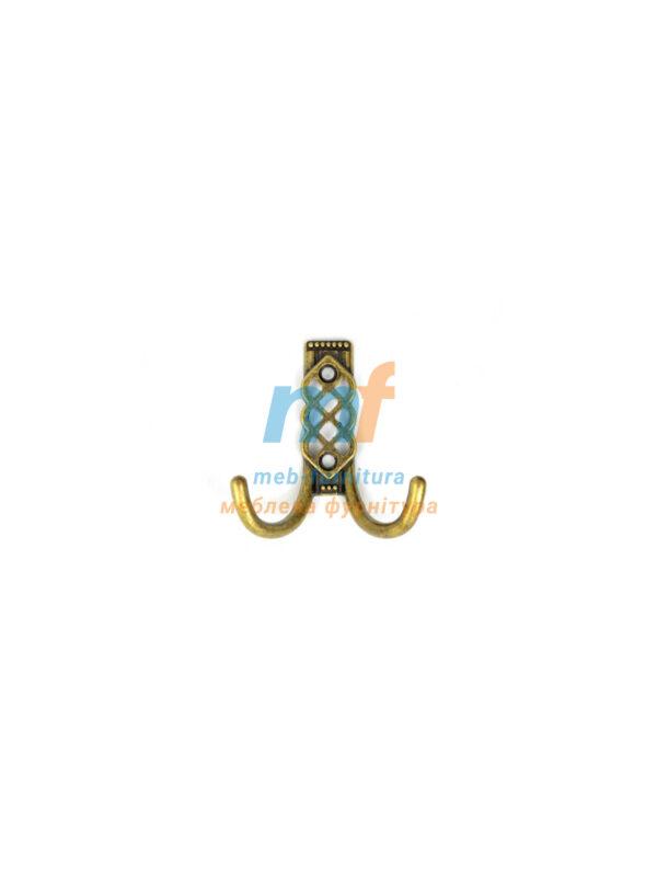 Крючок W102 маленький - бронза