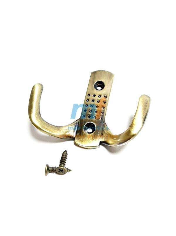 Крючок точка маленькая (ЕКО)- бронза