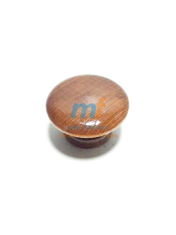 Мебельная ручка Кнопка деревянная Большая - 003