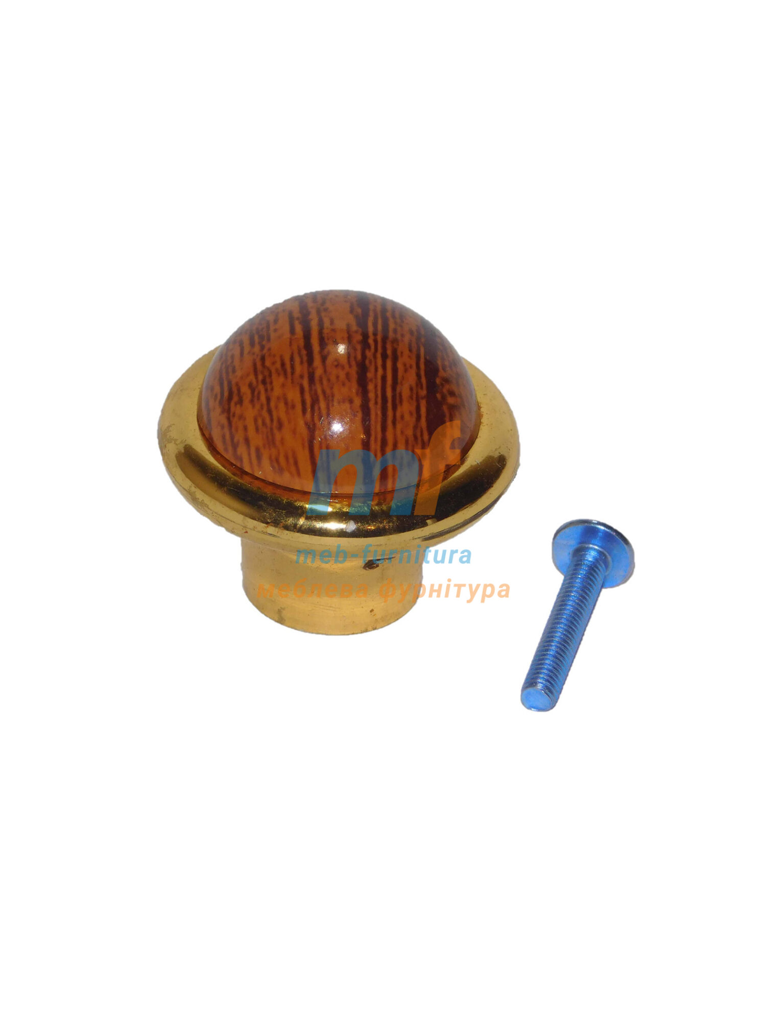 Мебельная ручка Кнопка кольцо- 600