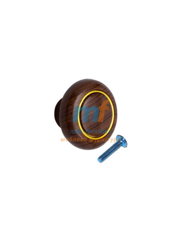 Мебельная ручка Кнопка кольцо- 607