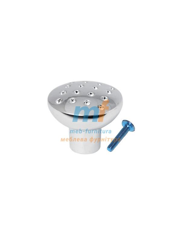 Мебельная ручка Кнопка точка DGA 28 G2 ХРОМ