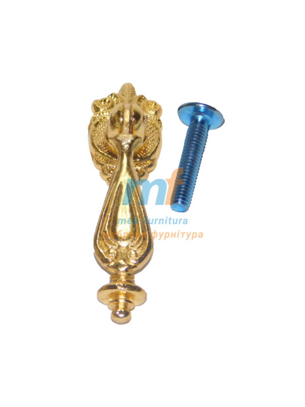 Ручка капля 1409 - золото