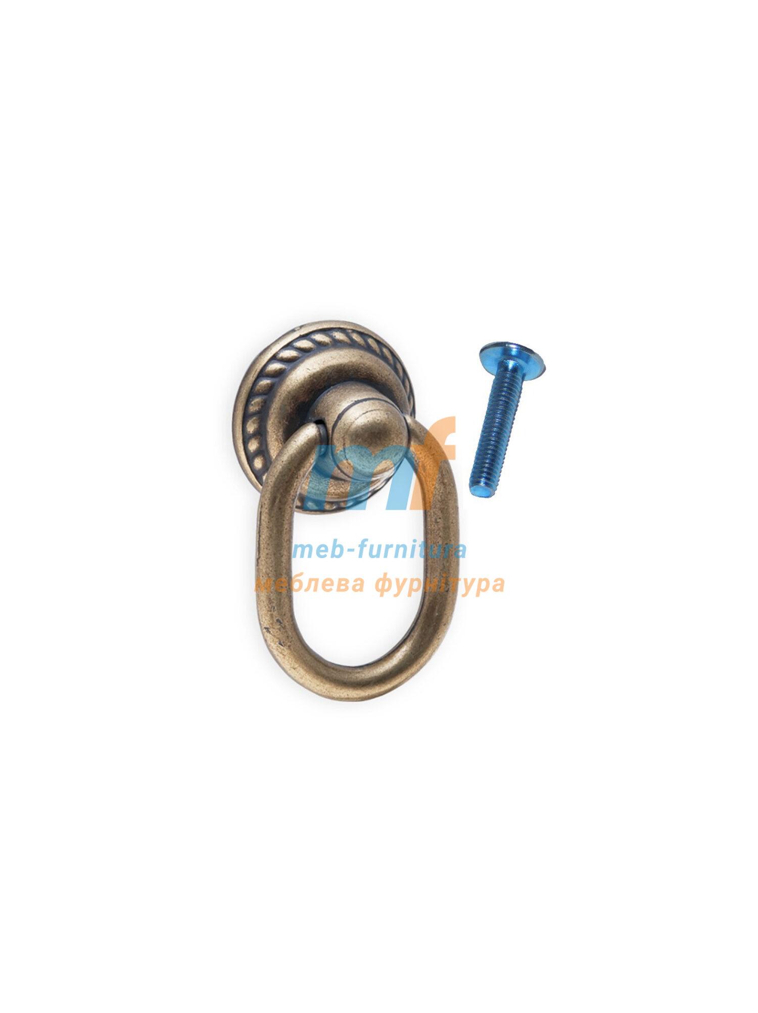 Ручка кольцо 1400 Кольцо Турция - коричнева